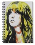 Stevie Nicks 01 Spiral Notebook