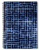 Stick Labyrinth Spiral Notebook