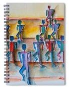 Stickman Performers Spiral Notebook