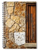 Sticks And Stone Spiral Notebook