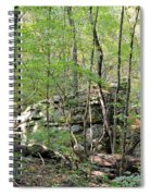 Sticks And Stones Along The Way Spiral Notebook