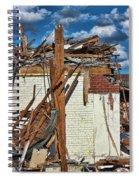 Sticks And Stones Spiral Notebook