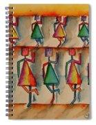 Stickwomen Performers Spiral Notebook