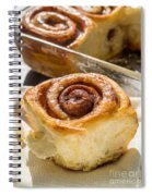 Sticky Cinnamon Buns Spiral Notebook