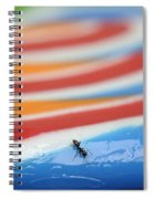 Sticky Rings Of Saturn Spiral Notebook