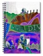 Stiletto Heels Invert Spiral Notebook