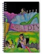Stiletto Heels Spiral Notebook