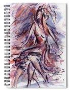 Still Dancing Spiral Notebook