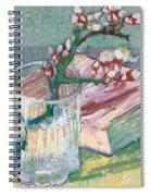 Still Life    A Flowering Almond Branch Spiral Notebook