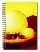 Still Life As We Know It Spiral Notebook