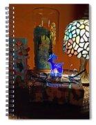 Still Life Christmas Peace Spiral Notebook