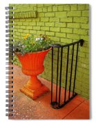Still Life In Colorful Alley  Spiral Notebook