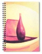 Still Life In Pink Spiral Notebook