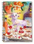 Still Life In Taormina Spiral Notebook