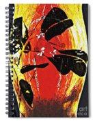 Still Life Outside The Vase Spiral Notebook