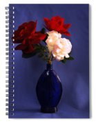 Still Life Red White And Blue Spiral Notebook