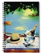 Still Life Regatta Spiral Notebook