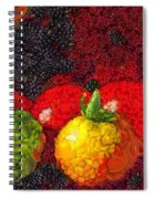 Still Life Tomatoes Fruits And Vegetables Spiral Notebook