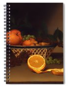Still Life With Oranges Spiral Notebook