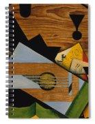 Still Life With A Guitar Spiral Notebook