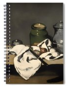 Still Life With A Kettle Spiral Notebook