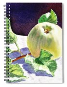 Still Life With Apple Spiral Notebook