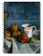 Still Life With Apples Cup And Pitcher Spiral Notebook
