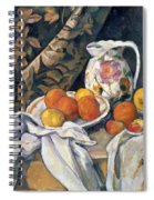 Still Life With Drapery Spiral Notebook