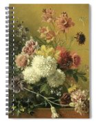 Still Life With Flowers Spiral Notebook