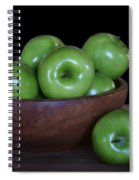 Still Life With Green Apples Spiral Notebook