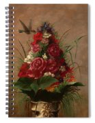 Still Life With Hummingbird Spiral Notebook