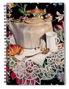 Still Life With Lace Spiral Notebook