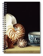 Still Life With Nautilus Spiral Notebook