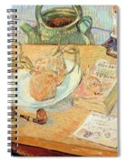 Still Life With Onions Spiral Notebook