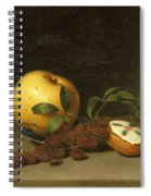 Still Life With Cake  Spiral Notebook