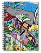 Still Life With Clouds Spiral Notebook