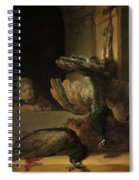 Still Life With Peacocks Spiral Notebook