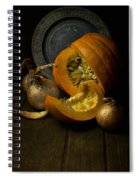 Still Life With Pumpkin Spiral Notebook