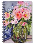 Still Life With Two Blue Ginger Jars Spiral Notebook