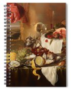 Still Life With View Spiral Notebook