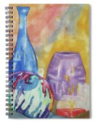 Still Life With Witching Ball Spiral Notebook