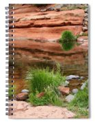 Still Waters At Slide Rock Spiral Notebook