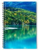 Stillness On The Kenai Spiral Notebook