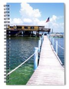 Stiltsville Dock Spiral Notebook