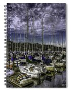 Stirring The Sky Spiral Notebook