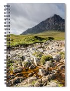 Stob Dearg Mountain Spiral Notebook