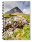 Stob Dearg Peak Spiral Notebook