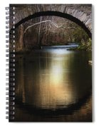 Stone Arch Bridge - Brick Texture Spiral Notebook