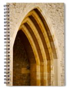 Stone Archway At Tower Hill Spiral Notebook
