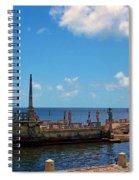 Stone Bardge Spiral Notebook